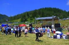 Bulgarian Folklore Festival view Stock Image