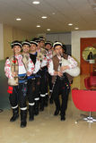Bulgarian folklore performance Stock Photography