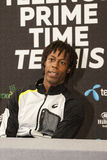 Bulgarian and French tenis players Grigor Dimitrov Gael Monfils Stock Images