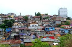 Bulgarian ghetto view,Maksuda,Varna Royalty Free Stock Photo