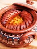 Bulgarian guiveche Stock Image