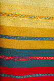 Bulgarian hand-made rag-carpets. Picture of Bulgarian hand-made rag-carpets, different colors Stock Photography