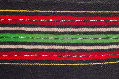 Bulgarian hand-made rag-carpets. Picture of Bulgarian hand-made rag-carpets, different colors Stock Image