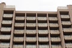 Bulgarian hotel with balconys Royalty Free Stock Photos