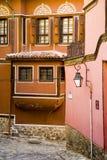 Bulgarian house. House in the old city og Plodiv in Bulgaria Stock Image
