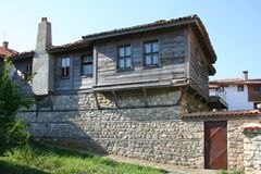 Bulgarian house Stock Photography