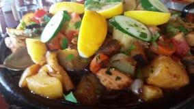 Bulgarian Kavarma. Kavarma - Delicious Bulgarian Traditional Dish stock video footage
