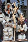 Bulgarian kuker costume Stock Image