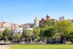 bulgarian kyrkliga istanbul Royaltyfri Fotografi