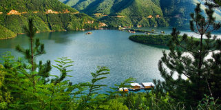 Bulgarian lake Stock Photo