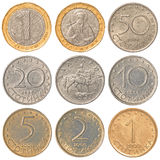 Bulgarian Lev coins collection Stock Image