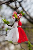 Bulgarian Martenitsa Royalty Free Stock Photo