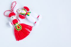 Bulgarian Martenitsa Stock Photography