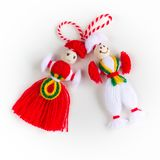 Bulgarian Martenitsa Stock Images