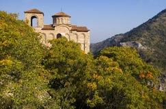 Bulgarian monastery. Monastery in the Rodopy mountains in bulgaria Royalty Free Stock Photo