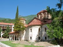 Bulgarian monestary Stock Image