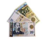 Bulgarian money. Royalty Free Stock Images