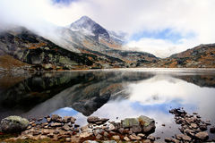 Bulgarian mountain lake Stock Photography