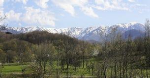 Bulgarian mountain named Stara planina royalty free stock photo