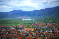 Bulgarian mountains scenic view Royalty Free Stock Images