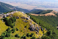 Bulgarian Mountains at Shipka Pass Royalty Free Stock Photos