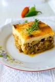 Bulgarian moussaka Royalty Free Stock Photo