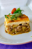 Bulgarian moussaka Royalty Free Stock Photography