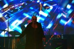 Bulgarian musician Stanley spectacular scene Stock Image