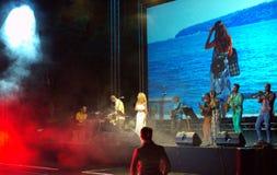 Bulgarian  musicians live concert Royalty Free Stock Photos