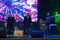 Bulgarian musicians live performance Stock Photo