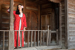 Bulgarian national dress Royalty Free Stock Photography