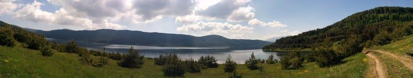 Bulgarian nature view. Batak lake Royalty Free Stock Image