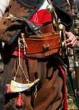 Bulgarian old rebel clothing and outfit. During the Ottoman rule Royalty Free Stock Photography
