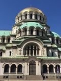Bulgarian Orthodox cathedral in Sofia Royalty Free Stock Photography