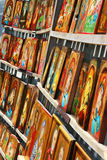 Bulgarian orthodox icons. Christian orthodox hand-painted icons for sale in Sofia, Bulgaria Royalty Free Stock Photography