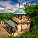 Bulgarian Orthodox Monastery stock photo