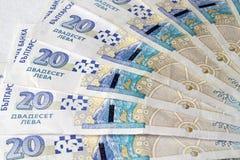 bulgarian pengar royaltyfria foton
