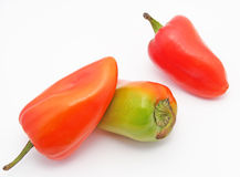 Bulgarian peppers Royalty Free Stock Image