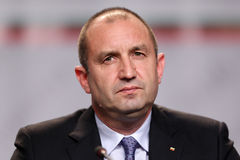 Bulgarian President-elect Rumen Radev Royalty Free Stock Photo