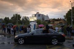 Bulgarian prom scene,Plovdiv city Stock Images