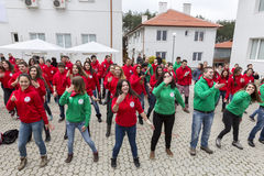Bulgarian Red Cross Youth (BRCY) voluntary organization Stock Image