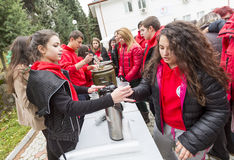 Bulgarian Red Cross Youth (BRCY) voluntary organization Royalty Free Stock Photography