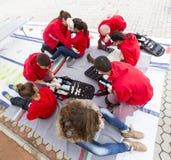 Bulgarian Red Cross Youth (BRCY) voluntary organization Stock Photography