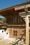 Bulgarian revival house. View of the Bulgarian Revival house Zheravna located at the foot of Stara Planina Royalty Free Stock Images