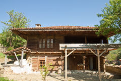 Bulgarian revival house. View of the Bulgarian Revival house Zheravna located at the foot of Stara Planina Royalty Free Stock Image