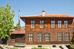Bulgarian revival house Royalty Free Stock Image