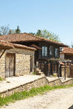 Bulgarian revival house Royalty Free Stock Photos