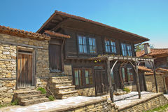 Bulgarian revival house Stock Images