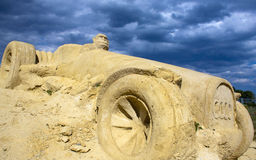 Bulgarian sand sculpture school. Stock Images