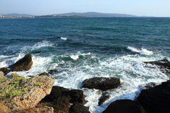 Bulgarian sea detail. As very nice natural background Stock Photos